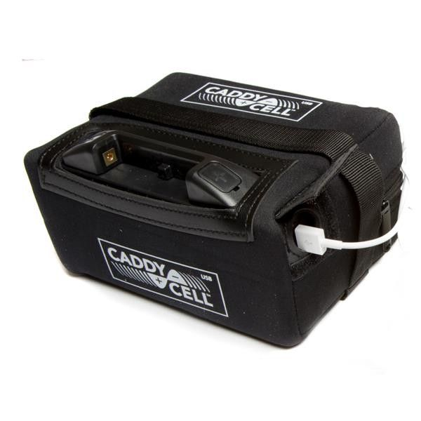 CaddyCell 18 Hole Lithium Battery & Charger with USB port