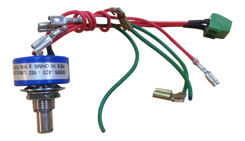 Potentiometer for Powakaddy with EDF & EBS wires for Freeway or Classic Legend PK3062EDFEBS