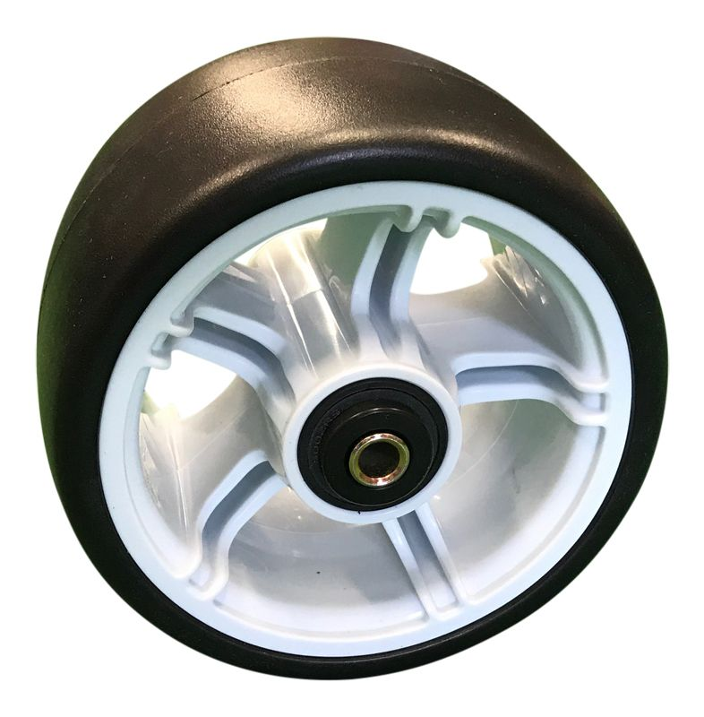 Powakaddy FW / C2 Front Wheel Assembly (White) (00774)