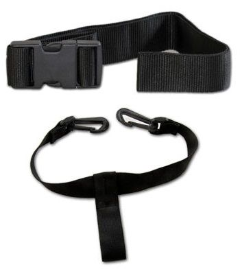 Upper and Lower Straps for Powakaddy